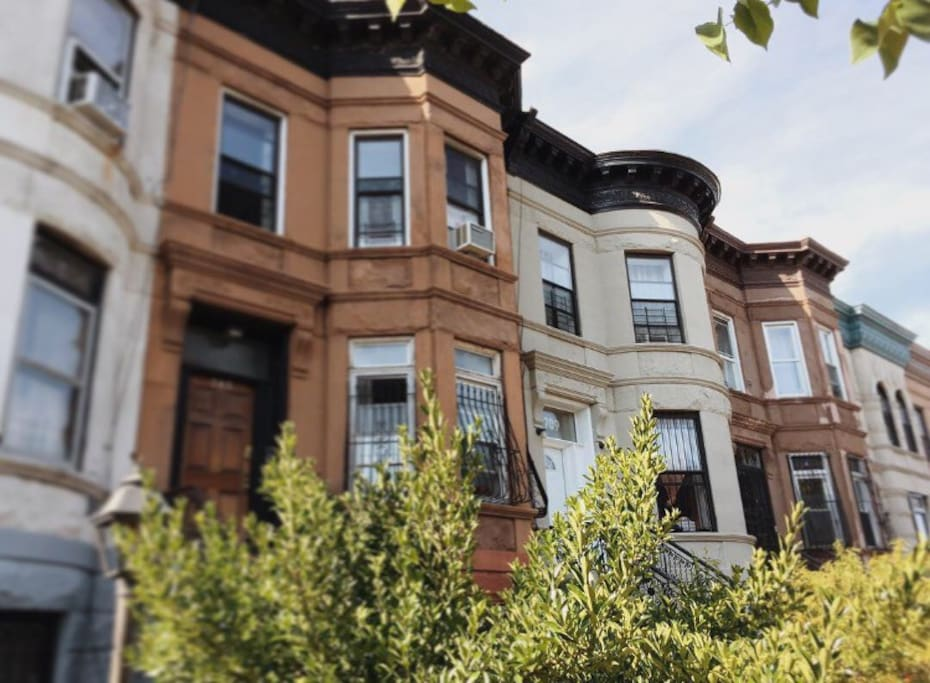Exterior: classic-brownstone in the heart of Bed-Stuy