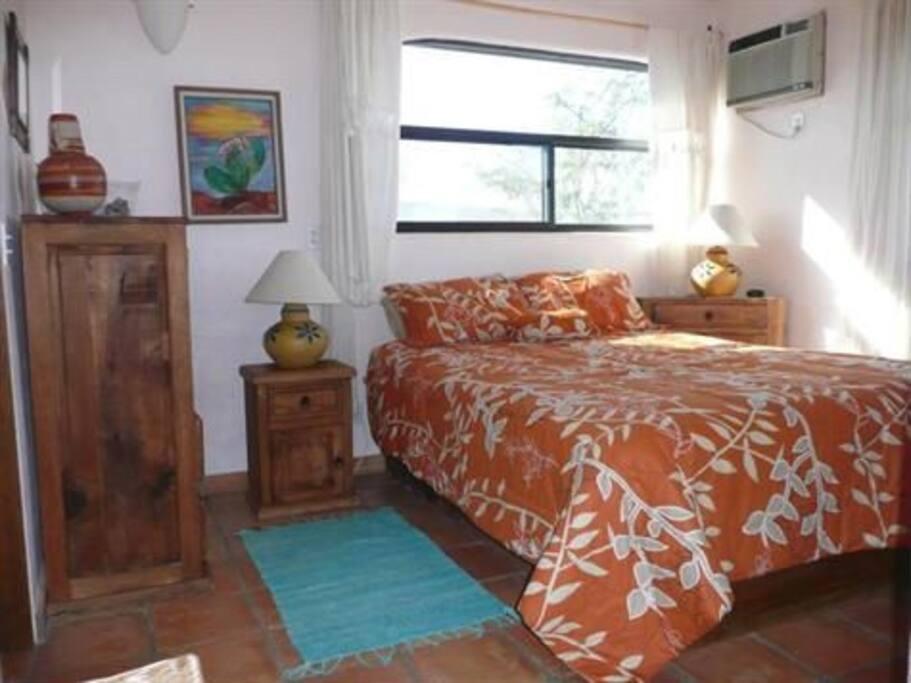 Bedroom area of upper casita.
