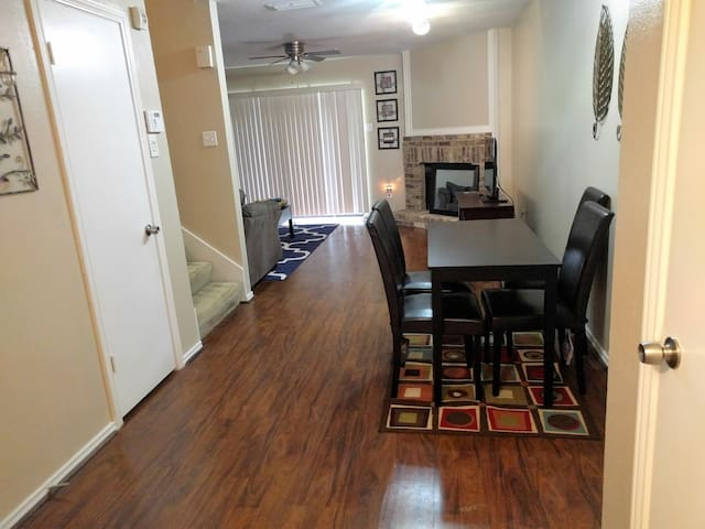 Living room - view from entry way