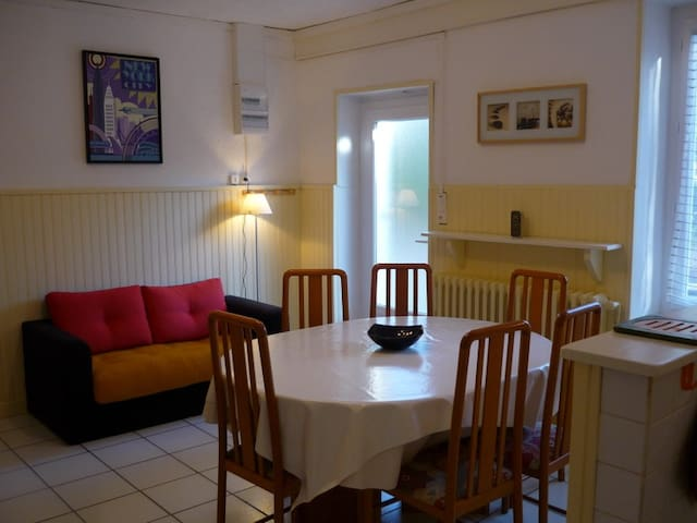 APPT RDC VILLA PROP 400M RIV ARDECHE PET JARD BARB - Lalevade-d'Ardèche - Wohnung