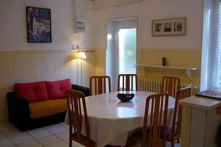APPT RDC VILLA PROP 400M RIV ARDECHE PET JARD BARB - Lalevade-d'Ardèche - Apartament