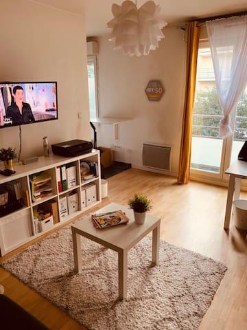 Joli studio confortable proche de Porte d'Italie