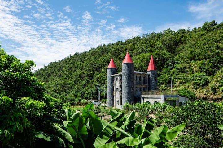 紫羅蘭套房-礁溪艾德堡德國城堡民宿,品嘗道地德國美食,體驗南德城堡風情