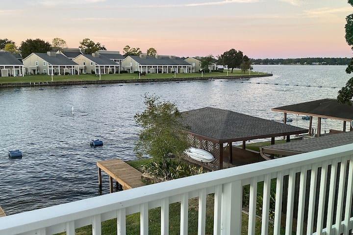 Luxury Waterfront home with private dock