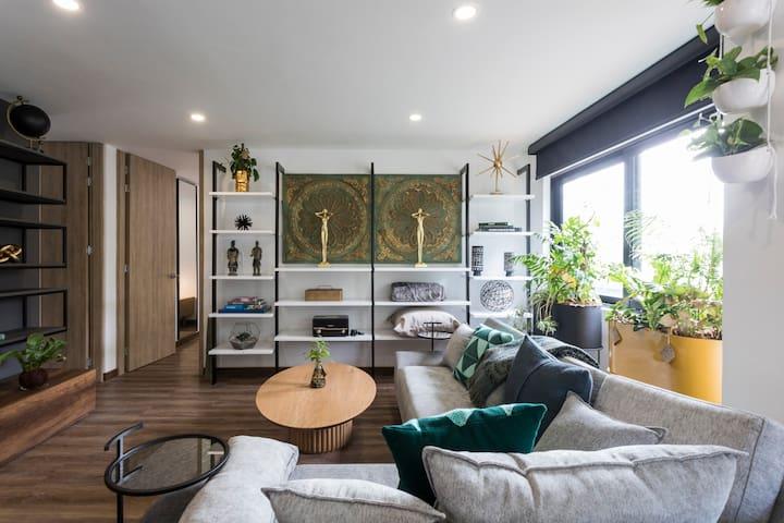 Zen 2 bedroom apartment in the heart of El Poblado