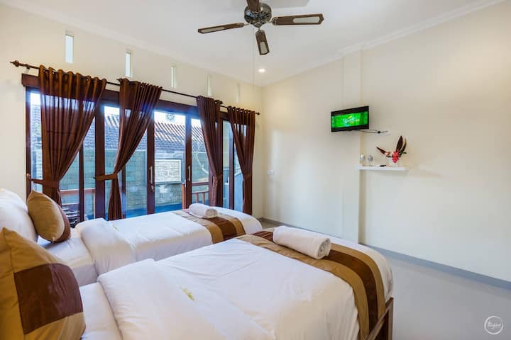 Seaweed Guesthouse Double or Twin Bed