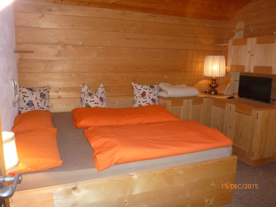 dormire col profumo del legno - sleep with the scent of wood