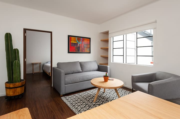 *Penthouse in Condesa with its own rooftop terrace