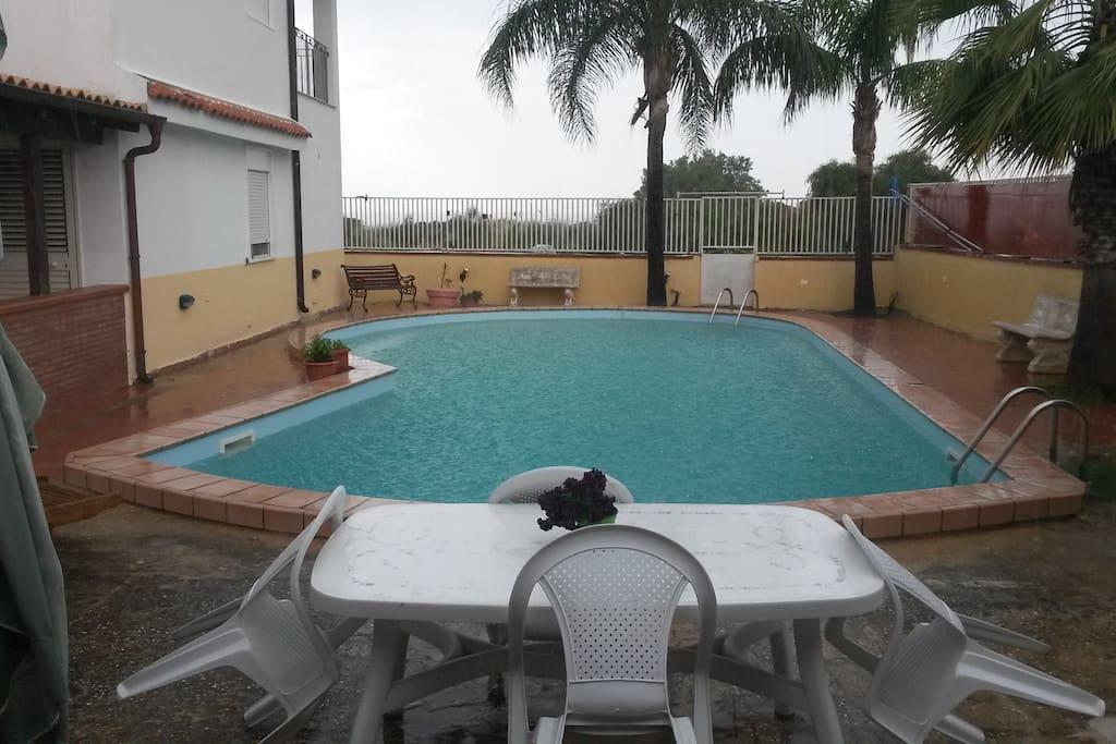 piscina ad uso esclusivo dei nostri ospiti