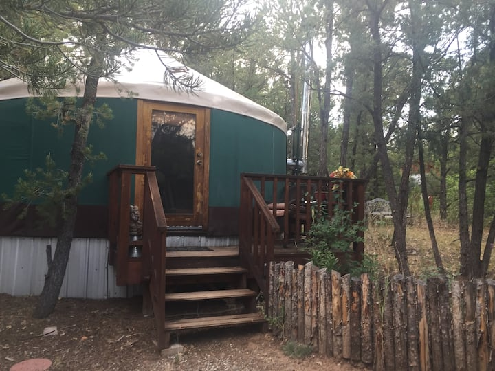 Mountain yurt for the solo traveler