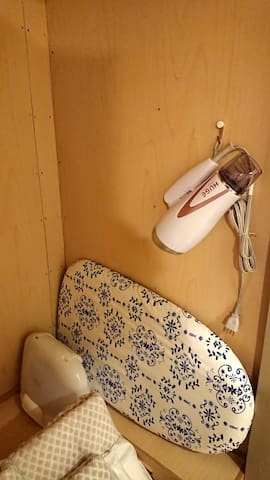 アイロンセットとドライヤー Iron set and hair dryer