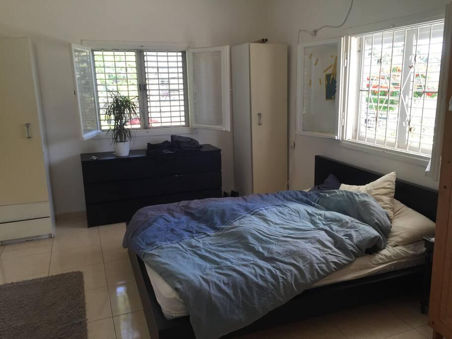 master bedroom + a\c