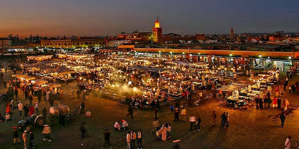 Double Room --1 BED for 2 Guests-- Marrakech