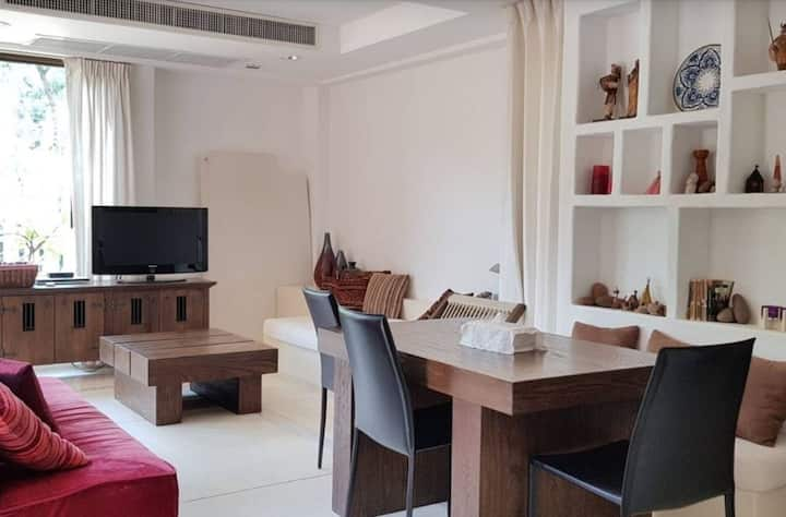 Beautiful Caribbean-style room in Hua Hin (70 sqm)