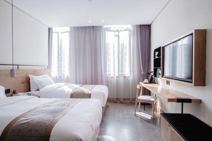 温馨双床房