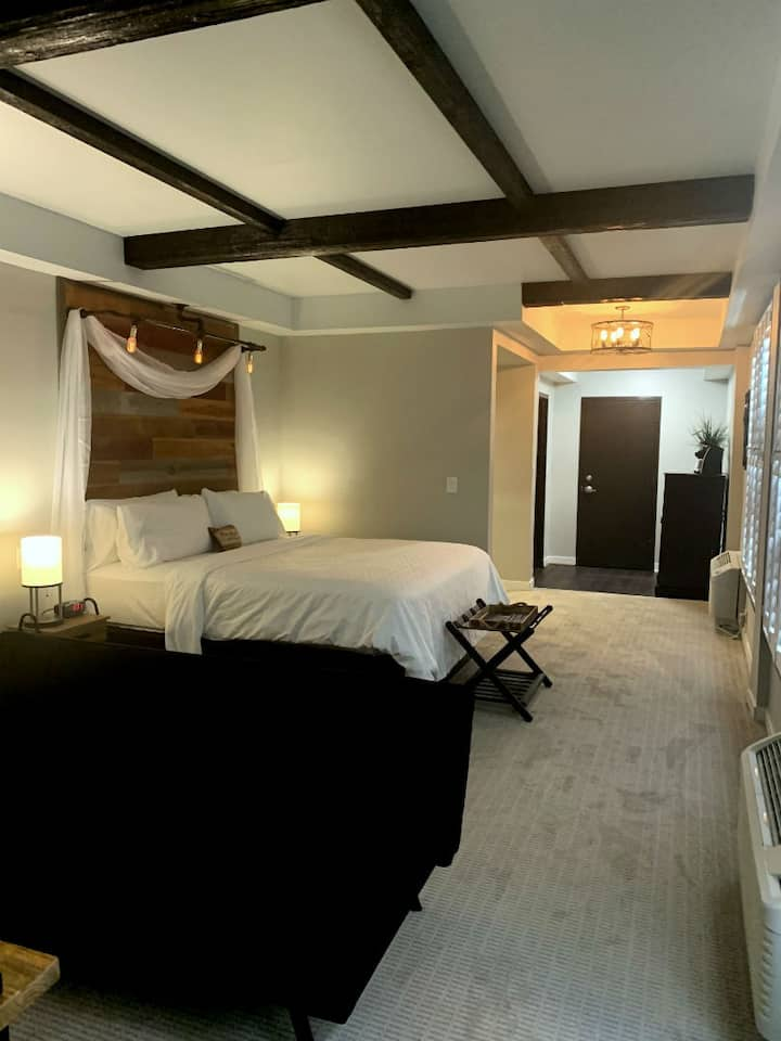 King Studio Stable Suite at Cedar Stables Inn & Suites