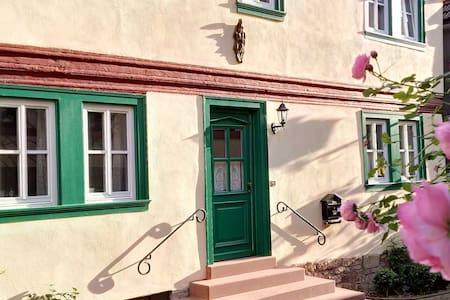 Historisches Weinbauernhaus in Main/Wein-Franken - Triefenstein Lengfurt - Talo
