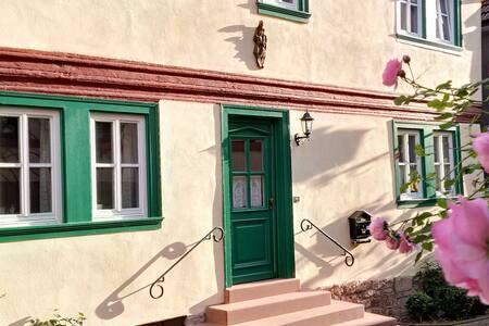 Historic vintner estate house in Main-Franken