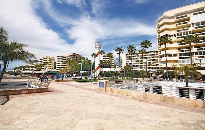 Nice home in Marbella with WiFi and 1 Bedrooms
