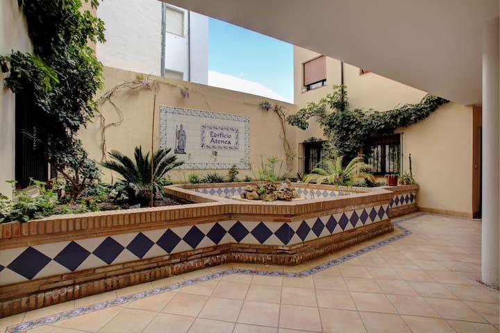 Large 3 bedrooms flat+centre+terrace+wifi+parking