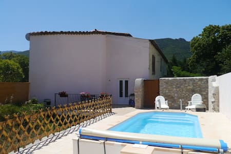 Newly Converted Barn with Pool - Quillan - Lakás