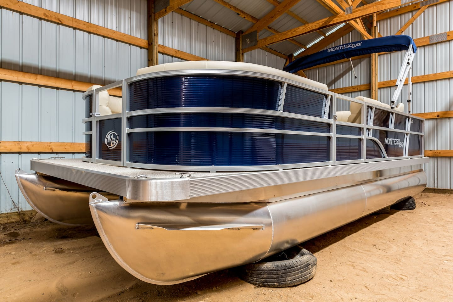 New 2018 Pontoon Boat is coming in April.  This is a similar model.