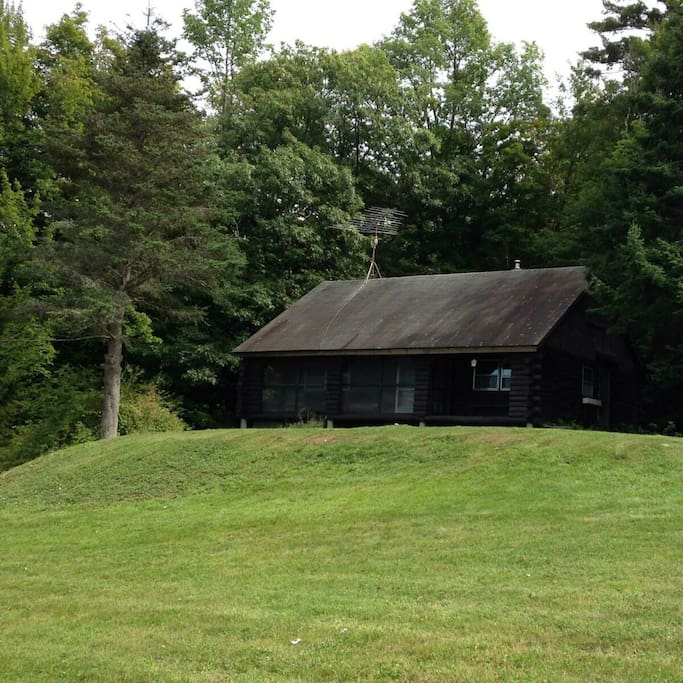 Log Cabin In The Woods Of Sunapee Cabins For Rent In