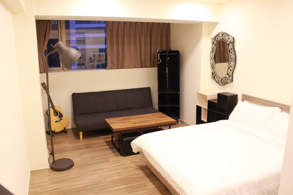 Brand new furnitures and double beds