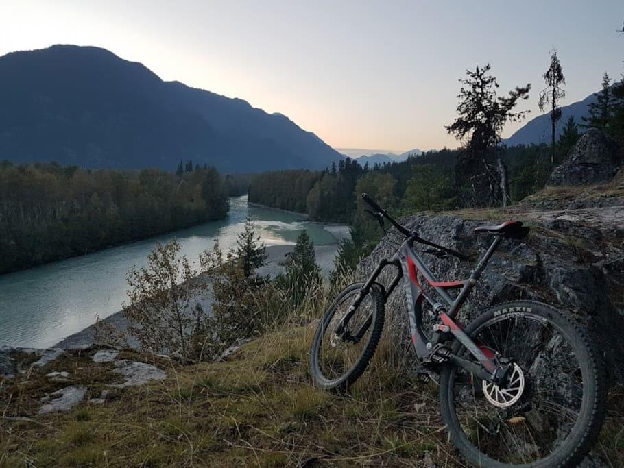 Amazing bike rides in the Pemberton valley await.