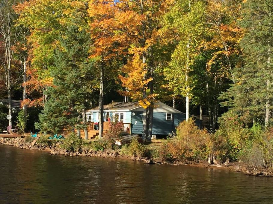 View from the Water in the Fall 2016