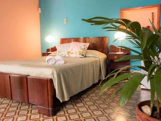 TROPICAL private room in Vedado. Home WIFI