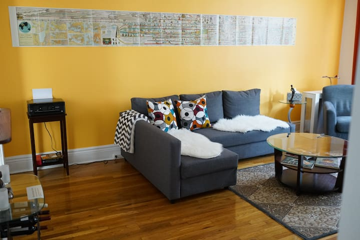 Bright and cozy newly renovated 1BR - Boston - Appartement