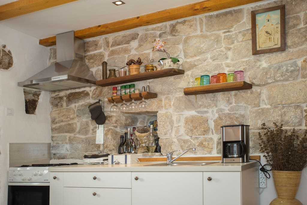 A kitchen, fully equipped