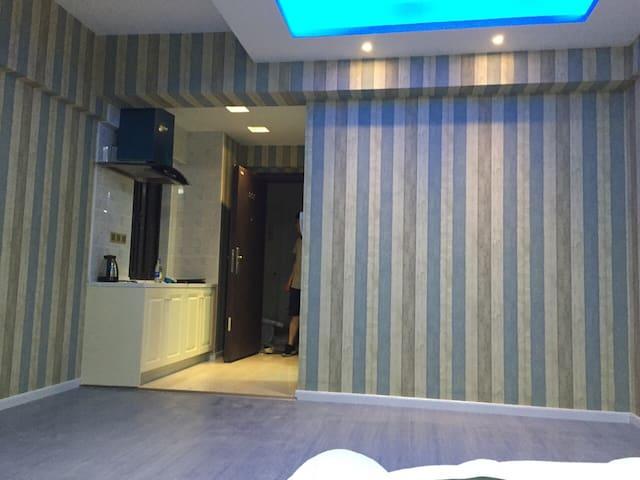 灵感酒店式公寓,适宜居家旅行的主题观海公寓房 - เซี่ยงไฮ้