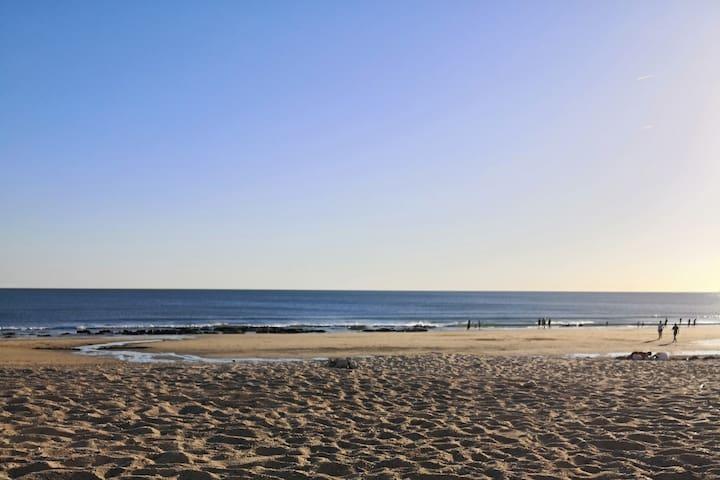 Appartement à 7 minutes à pieds de la plage