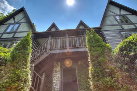 Luxurious 6-Bdrm Lodge - Blue Ridge Mtns. Near Brevard, Asheville & Greenville - Cedar Mountain - Talo