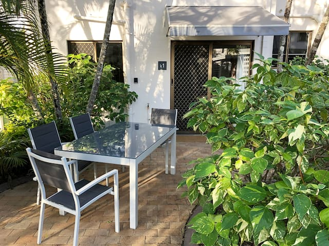 Tranquil outdoor areas