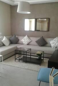 Appart Cosy Bouznika - 2 Chambres + Salon - Bouznika - Apartemen