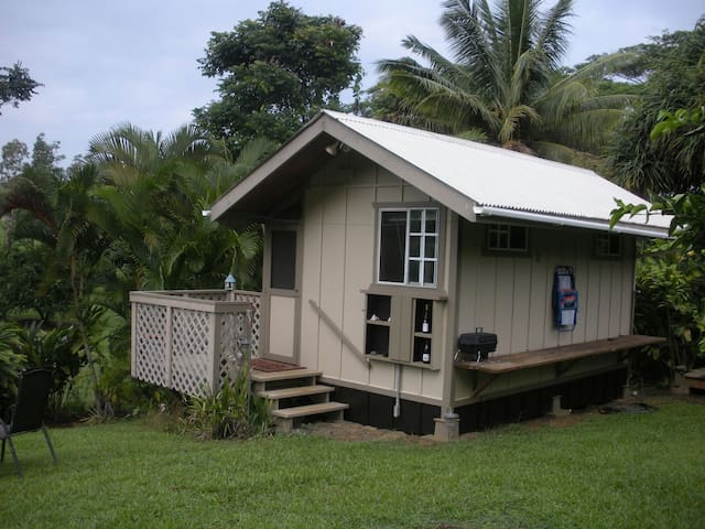 The Love Shack...Review is from Rustic Elegance:-) - Kapaau - Chatka