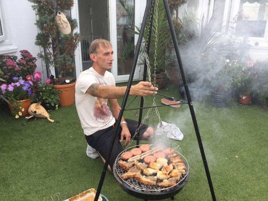 Great sized family BBQ