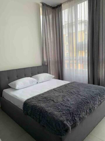 Кровать 160/200 с очень удобным матрасом!