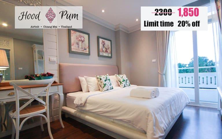 U408-OldCity 10mins walk2 Nimman Rd - Si Phum - Appartement