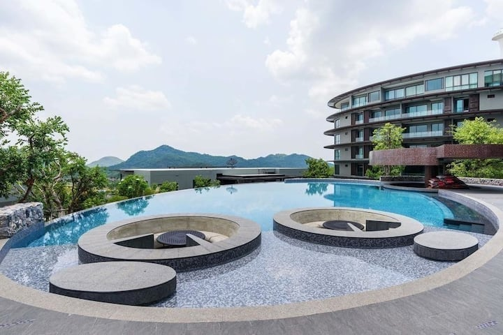 Spacious 2 Bedroom Apartment at 360 Pano Khaoyai
