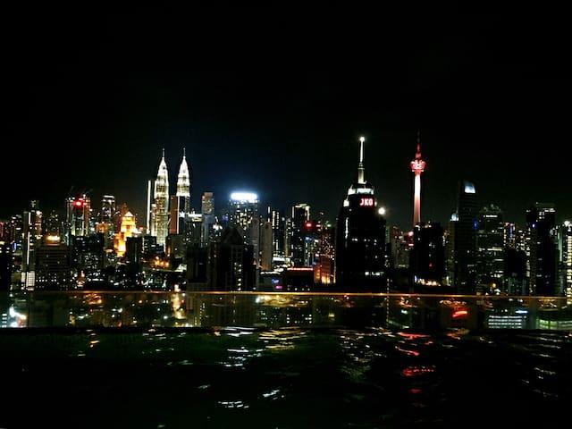 Infinity KL Night View