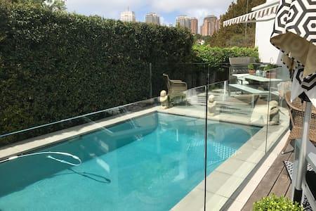 Large Private Pool studio - Woollahra - Gæstehus