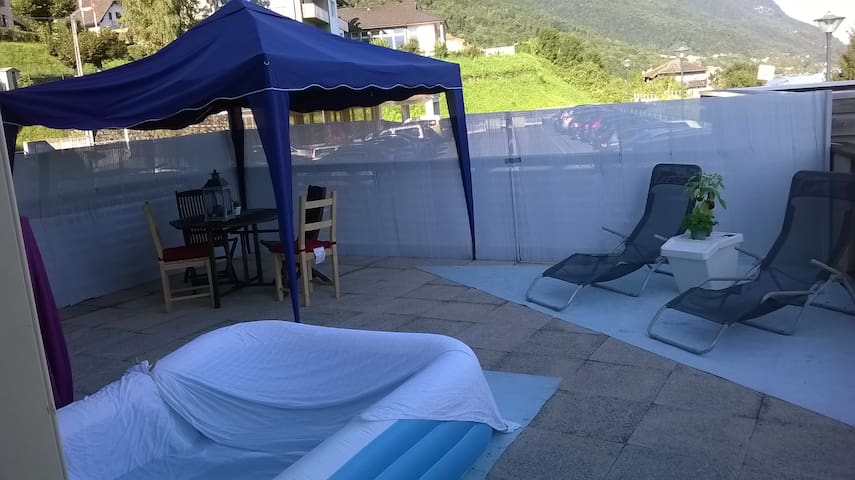 Appartement prés du lac léman et de la Suisse - Saint-Gingolph - Huoneisto
