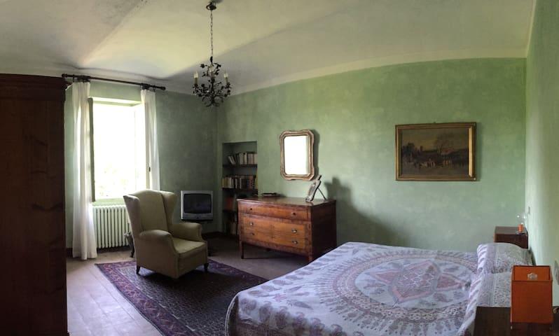 Camera verde/green room