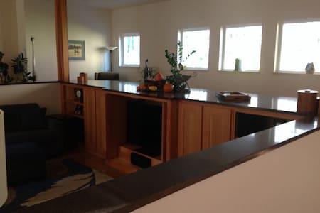 Coastal forest custom home with garden setting - Bandon