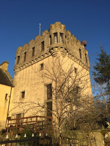 14th century medieval tower - Falkirk