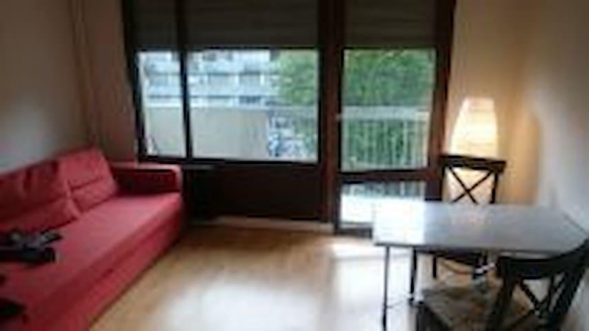 Studio très bon état avec balcon-Sol et murs neufs - Saint-Julien-en-Genevois - Apartment